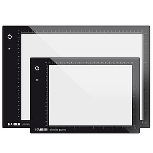 KAISER LED Light Plate slimlite plano 22x16 cm